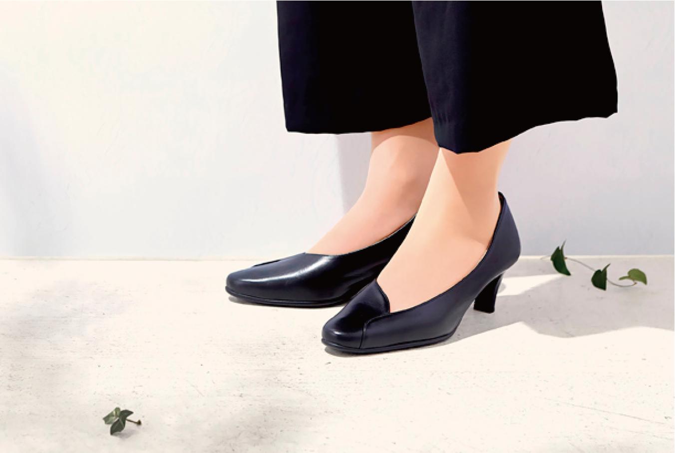 大阪のデザイン会社 株式会社Yの制作事例|佳歩と靴